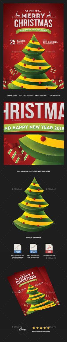 Annual Christmas Dinner Flyer Template Christmas Flyers