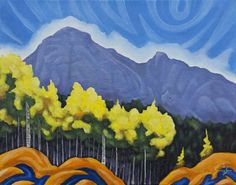 MT. CORY By K Neil Swanson Canada House, Artwork Display, Canadian Art, Gallery, Painting, Roof Rack, Painting Art, Paintings, Paint