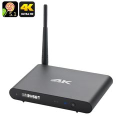 #Chinavasion - #Chinavasion Octa Core Android 5.1 Wi-Fi TV Box - Ultra HD 4K Resolutions, 2.4GHz + 5GHz Wi-Fi, DLNA, Kodi, OTG - AdoreWe.com