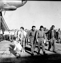 Mosca torna comandante Ernesto Guevara. Riceve Comandante Raúl Castro, Aleida March, moglie e figli del Che.