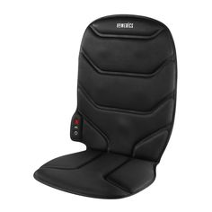 Massage Comfort Cushion with heat - The HoMedics Vibration Massage Comfort Cushion with Heat has five motors that provide an invigorating massage with a soothing heat option. It has three customized body zone controls, upper back, middle back, and lower back, plus variable two-speed intensity. The ergonomic hand control lets you pick your perfect massage within an arm's reach. The cushion includes auto and home adaptors so you can take it on the road in your car, at the office, and back…