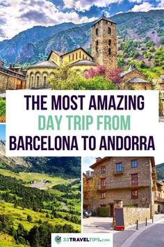 Andorra is tiny, which makes it perfect for a day trip from Barcelona. Whether you like skiing, shopping for great deals, or visiting charming churches, put Andorra on your travel wish list. Here's how you plan an awesome day trip from Barcelona to Andorra. Day trip to Andorra | Andorra day trip from Barcelona | Andorra Day Trip | Pyrenees | How to get from Barcelona to Andorra | The Best Things to do in Andorra | The Best Things to See in Andorra | Where to Stay in Andorra #andorra… European Vacation, European Destination, European Travel, Spain And Portugal, Portugal Travel, Spain Travel, Europe Travel Guide, Travel Guides, Travel Abroad