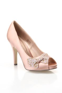 Peep Toe Shoe with bow - just love the bow!!
