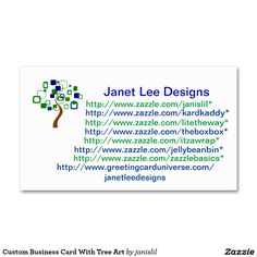 Custom Business Card With Tree Art Business Card Templates July 16th & 17th Sale. 50% off Business Cards  USE CODE: NEWBIZCARD4U