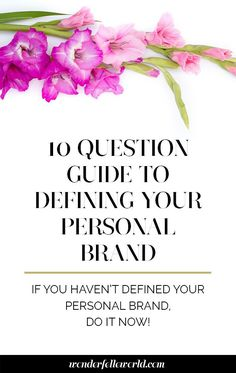 Developing your personal brand goes hand in hand with attracting your dream clients – because how they perceive you is just as important as how you see yourself!  If you haven't defined your personal brand, do it now.  Get a FREE download of the 10 questions you should be asking yourself to define your personal brand right below! http://www.wonderfelleworld.com/personal-brand/