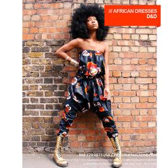 D Collection African Playsuit .