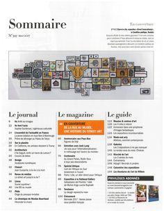 Sommaire Beaux Arts Magazine (No. 395)
