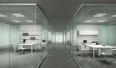 glass removable partition - KRISTAL EVO - ArchiExpo