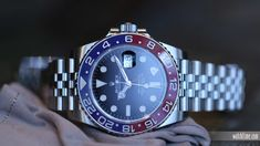 Vintage Eye for the Modern Guy: Rolex GMT-Master II, 2018 Edition - Dr Wong - Emporium of Tings. Rolex Watches, Watches For Men, Rolex Women, Rolex Gmt Master, Telling Time, Rolex Submariner, Pepsi, Gold Watch, Omega Watch