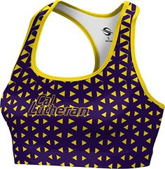 ProSphere Womens California Lutheran University Geometric Sports Bra XLarge -- For more information, visit image link.(This is an Amazon affiliate link)