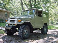 Then, dad brought the Toyota home. We were shocked! No Jeep? Meh, it was ok. Toyota Cruiser, Toyota Fj40, Fj Cruiser, Toyota Tacoma, Enjoy Car, Rims And Tires, Mountain Style, Classic Toys, Fast Cars