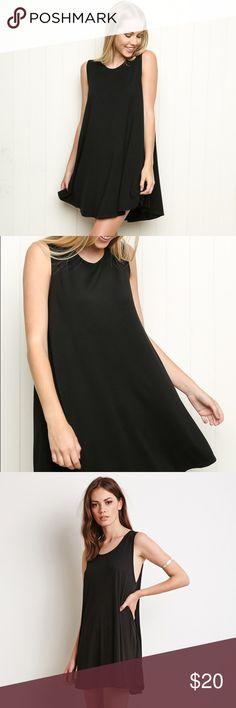 Brandy Melville Black Dress Brandy Melville Black Dress Brandy Melville Dresses Midi