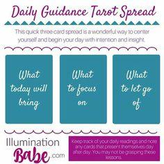 Daily Guidance Tarot Spread