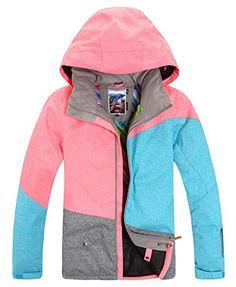 22e802f3ba APTRO Women s High Windproof Technology Colorfull Printed Ski Jacket Style   19 Size L APTRO http