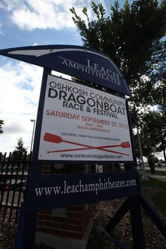 Dragonboat Races. Oshkosh, WI. Saturday, September 25th. Join in and race those dragonboats!