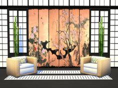 The best and most relaxing spa is the one that brings peace to the soul just with interior. These shoji walls with beautiful mural painting will turn any spa venue into the most popular place in...