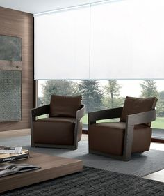 Made by Jesse furniture, Italy, the Cindy armchair is a mix of wood & fabric or leather, & will work with both traditional & contemporary furniture. Go Modern Furniture Living Furniture, Upholstered Furniture, Living Room Chairs, Outdoor Furniture Sets, Lounge Chairs, Arm Chairs, Club Chairs, Furniture Design, Contemporary Armchair