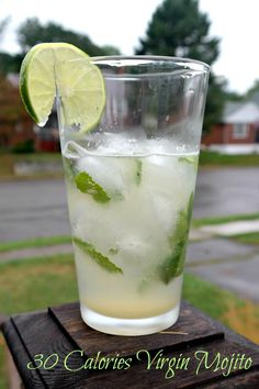 Try this skinny virgin cocktail for refreshment. The virgin Mojito with mint…