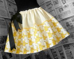Pokemon Dress Pokemon Skirt Pokemon Clothing Womens by RoobyLane, £40.00