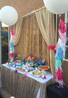Lilo and Stitch Birthday Party Ideas | Photo 3 of 18 | Catch My Party