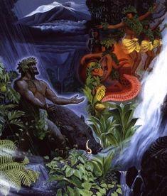 Haunted Hawaii - Spirits of the Pacific Hawaiian Mythology, Hawaiian Goddess, Hawaiian Legends, Hawaiian Art, Hawaiian Phrases, Polynesian Art, Hawaii Homes, Vintage Hawaii, Hawaiian Islands