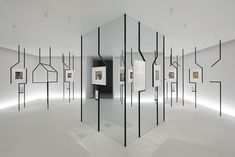 Nendo turns MC Escher's optical illusions into reality in immersive exhibition - Gallery - Museum Exhibition Design, Exhibition Display, Exhibition Space, Design Museum, Exhibition Ideas, Mc Escher, Escher Art, Display Design, Booth Design