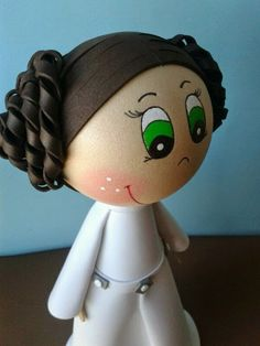 Fofucha princesa Leia