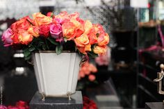 Roses at Hôtel Costes by Paris in Four Months, via Flickr