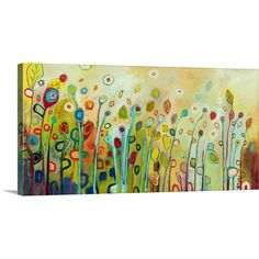 Great Big Canvas Within by Jennifer Lommers Painting Print on Gallery Wrapped Canvas & Reviews   Wayfair