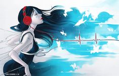 Music is My Life by Qinni.deviantart.com on @deviantART