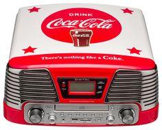 Giradischi Coca Cola