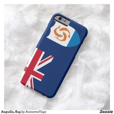 Anguilla, flag barely there iPhone 6 case