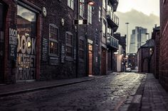 Dock Street Market | Bokehrama    Dock street, probably my favourite place in Leeds.    Brenizer method was used to simulate a 34 mm f/0.55 image by stitching 24 photos taken with a Samyang 85mm f/1.4.