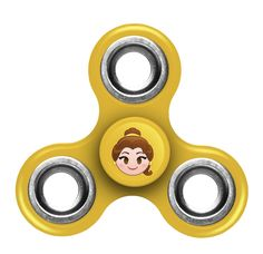 Disney Princess Fidget Diztracto Three Way Spinner - Printed Belle **PREORDER - SHIPS IN MID JULY**