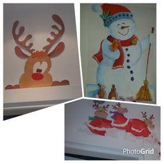 Disegni dipinti per decorare ambienti di casa e rendere unico il natale dei tuoi piccini
