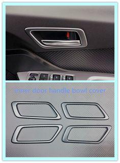 New! For Toyota C -HR CHR 2016 2017 ABS Matt Inner Interior Door handle bowl cover decoration trim #Affiliate