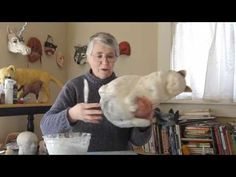 How to Make a Paper Mache Cat, Lesson 5# - YouTube