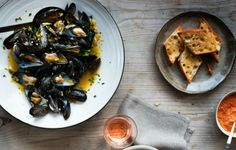 Bouillabaisse with Rouille and Garlic Toasts Save to My Recipes This pot of Provençal mussels is bathed in a bouillabaisse-style broth with ...