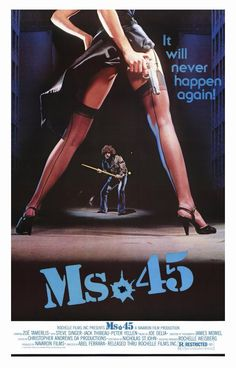 Ms. 45, directed by Abel Ferrara (1981)