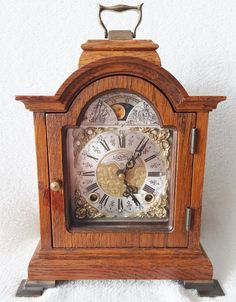 0.99 On eBay starts this Warmink Bracket Mantel Shelf Clock Oak Vintage Dutch Moon Phase Silent Option | eBay http://cgi.ebay.co.uk/ws/eBayISAPI.dll?ViewItem&item=391581586074&ssPageName=STRK:MESE:IT …