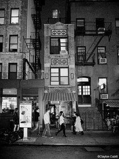 Tiny narrow building, East Village, NYC