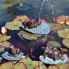 Lazy Frog Fountain