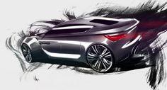 BMW Sketch by Balázs Filczer