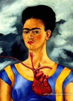 FRIDA KAHLO ( 1907 - 1954 ) MEXICAN ARTIST / SURREALISTMore Pins Like This At FOSTERGINGER @ Pinterest
