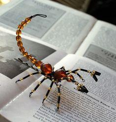 DIY Beaded Spiders & Scorpions