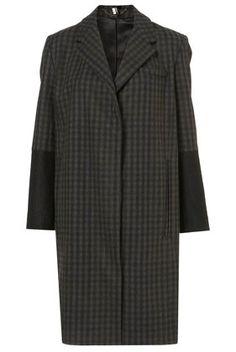 Topshop premium boyfriend coat