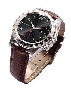 - S2 - Tragbare - Smart Watch - Bluetooth 3.0 - Freisprechanlage/Media Control/Nachrichtensteuerung/Kamera Kontrolle - fu00fcr - http://uhr.haus/weiq/s2-tragbare-smart-watch-bluetooth-3-0-media-kamera