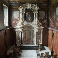 Chatsworth House chapel, Derbyshire, UK