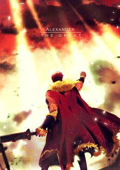 Fate/Zero ~ Rider (Alexander The Great)