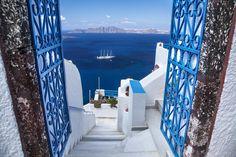 #Santorini #Oia, #Greece - #Yunanistan - Santorini adası